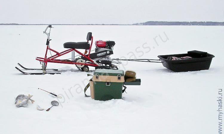 снегоход рыбак 2м купить б.у