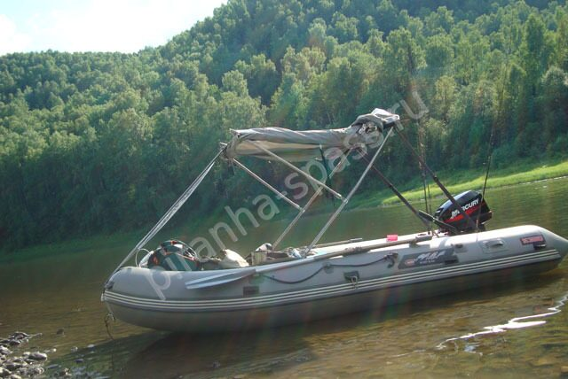 Тент ходовой трансформер для лодки своими руками
