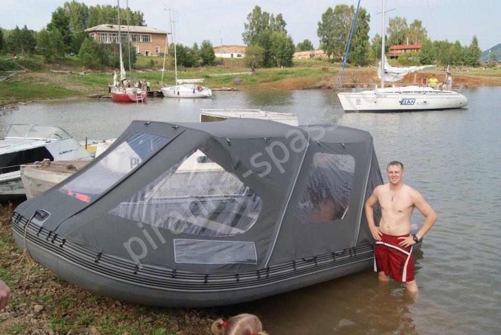 Тенты для надувных лодок из пвх своими руками